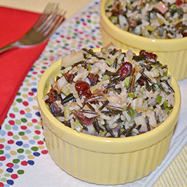 Apple-Sage Wild Rice Stuffing*