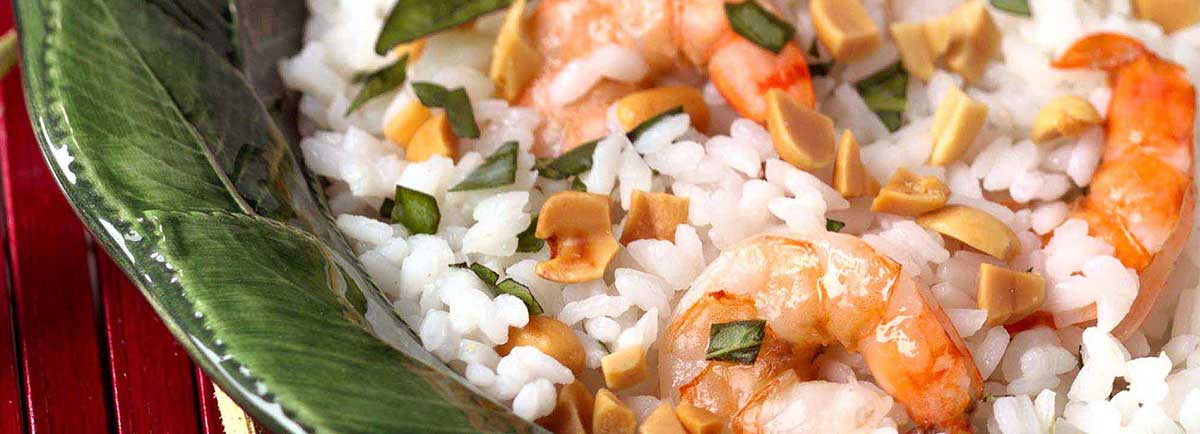 Supreme Rice - Bangkok Rice and Shrimp Salad