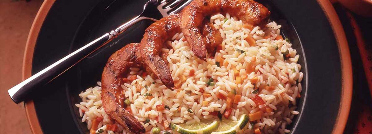 Supreme Rice - Barbecued Shrimp with Spicy Rice