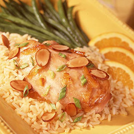 Chicken and Rice L'orange