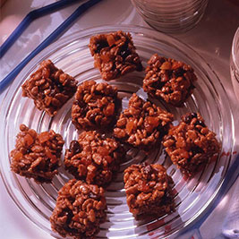 Chocolate Fruit Crispies