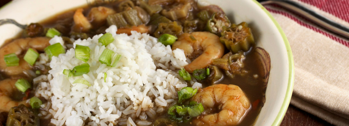 Supreme Rice - Supreme Shrimp and Okra Gumbo