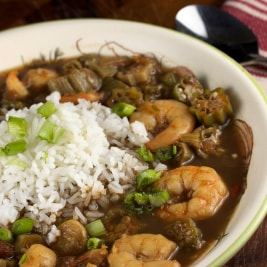 Supreme Shrimp and Okra Gumbo